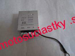 regulator 6V 45 W ukostreny + pol