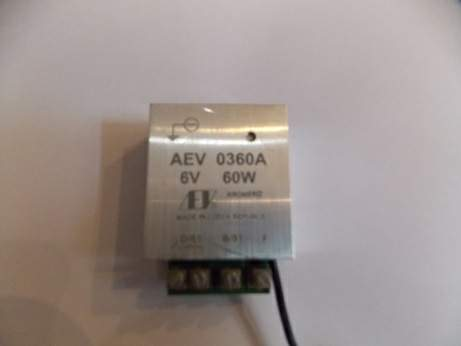 regulator 6V 60W ukostrenia / - pol AEV 0360/